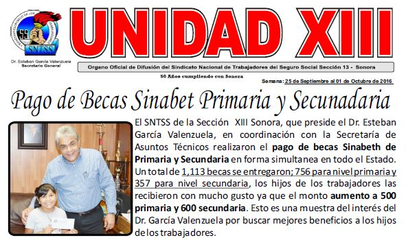 Trabajos realizados en Sonora
